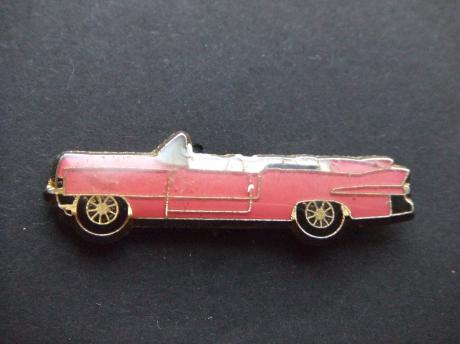 Cadillac series 62 , convertible 1959 roze model